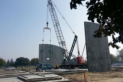 First two walls being supported 11/14