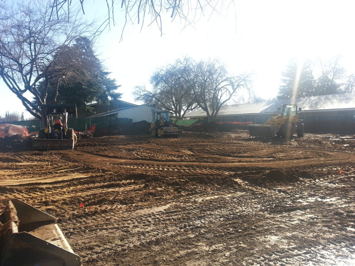 Tractors in a muddy area 1/16
