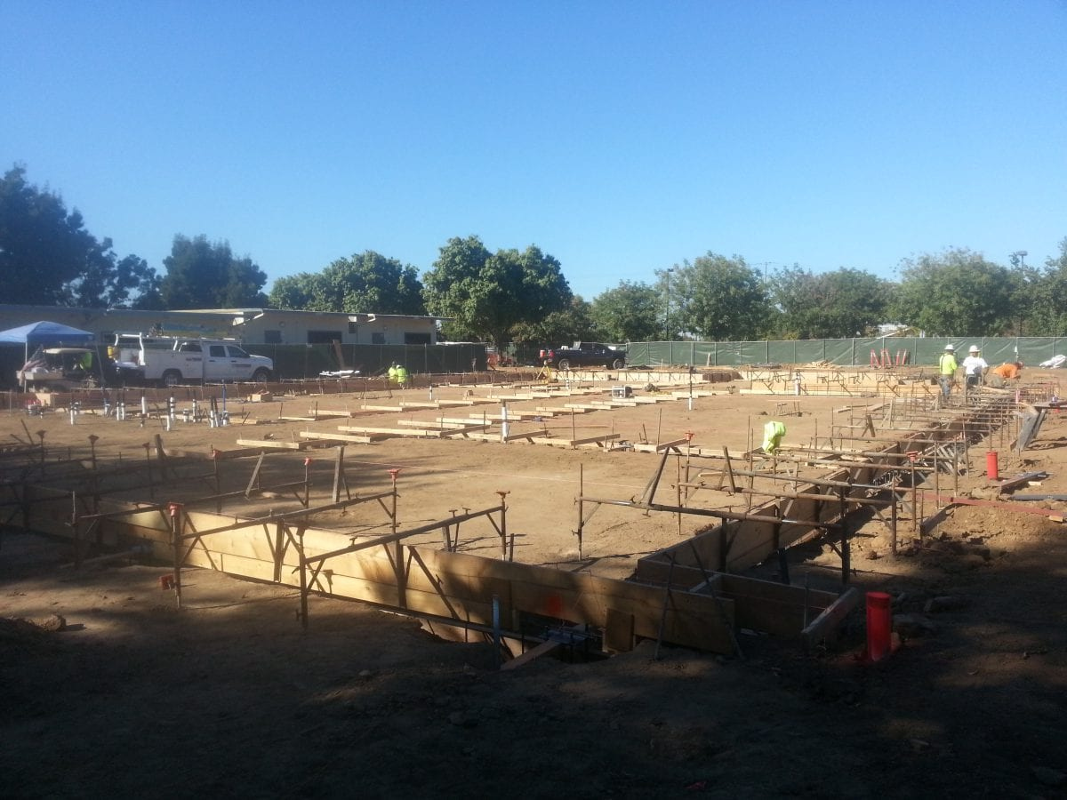 Groundwork laid out for building 10/16