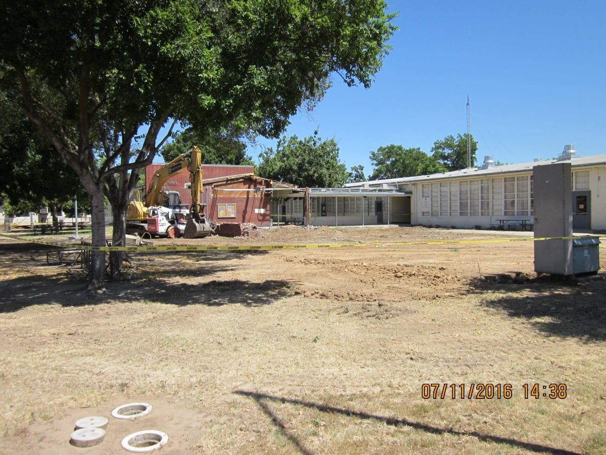 Wide view of outside front area 7/16