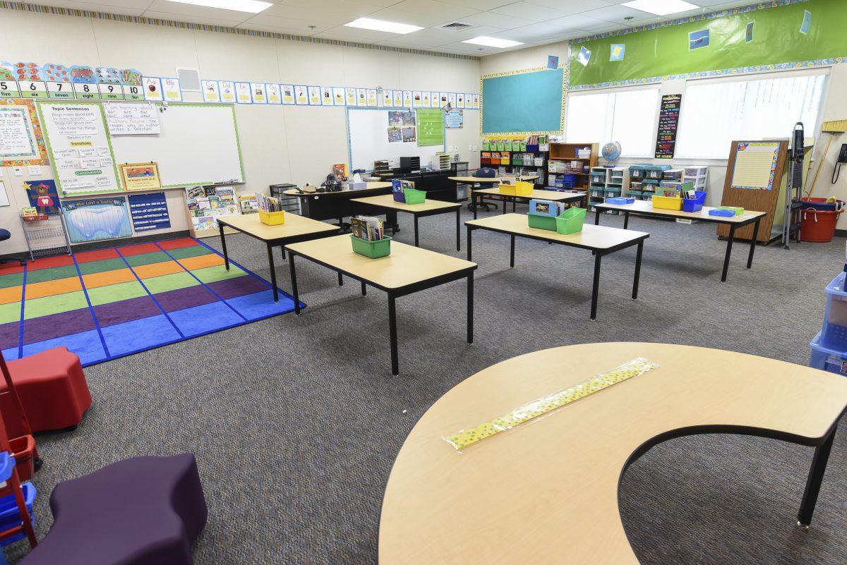 Inside a colorful classroom 7/17