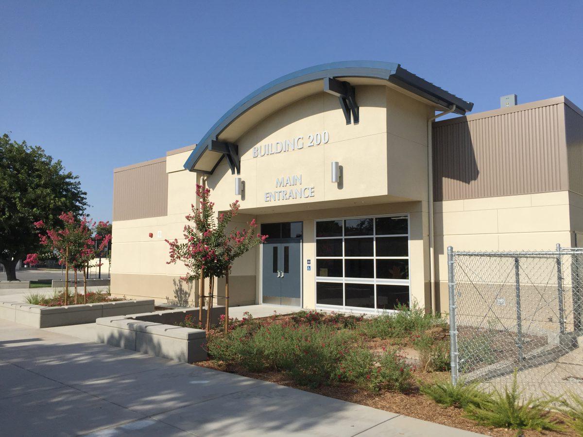 Main entrance - Building 200 8/17