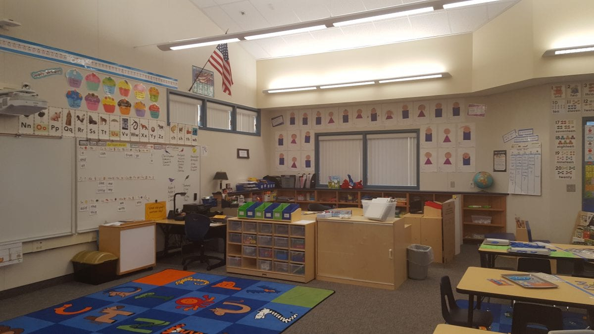 Inside a classroom 9/16