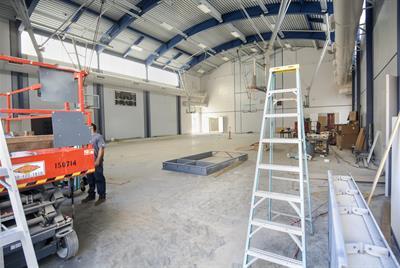 Inside of gymnasium 5/15