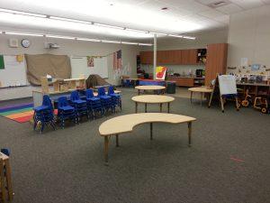 Inside Hamilton classroom